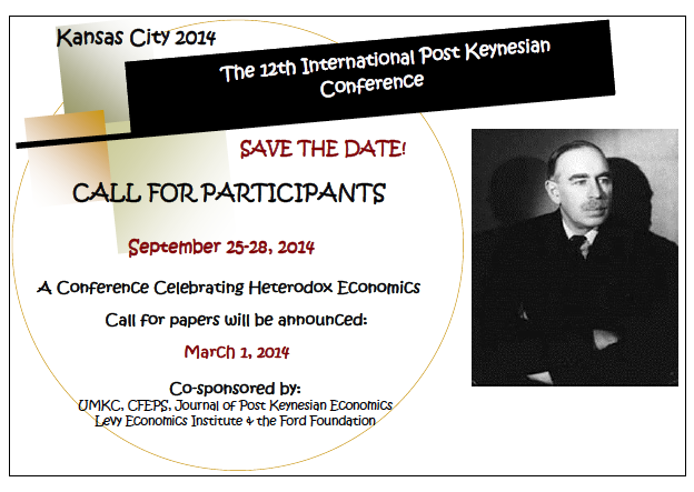 12th Annual International Post Keynesian Conference