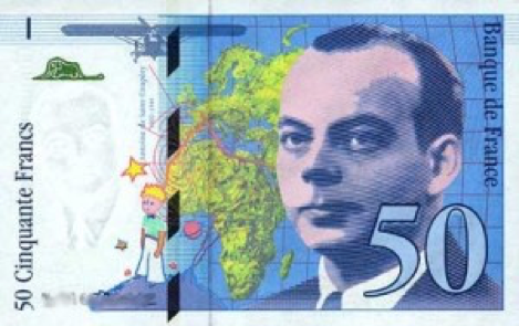 Figure 4. A 50 French franc note.